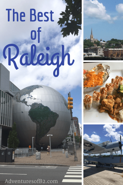 Here's a budget friendly guide for Raleigh, NC of fun and mostly free things to do that makes traveling on a budget a breeze!