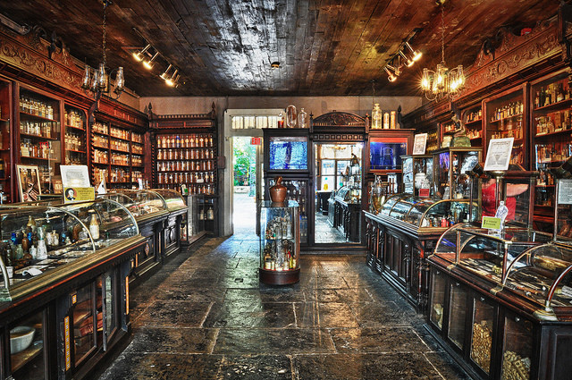 New Orleans Pharmacy museum is a budget friendly attraction that is unique to New Orleans.