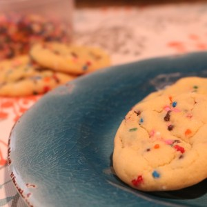 Vanilla Sprinkle cookies Super easy, super soft cookies made with pudding mix. Its full of vanilla goodness and loaded with sprinkles making it one of the best cookies ever.