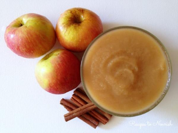 instant pot applesauce from recipes to nourish