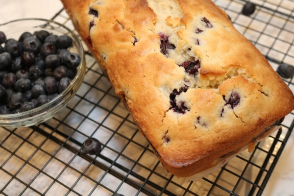Blueberry lemon bread is full of delicious flavors that makes it a delightful treat. Serve it up for breakfast or have slice for dessert with ice cream.