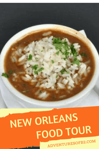 New Orleans food tour is full of fun and delicious food along with a little history lesson along the way.