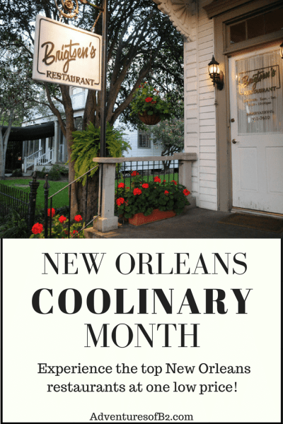 New orleans coolinary is a month to experience new orleans top restaurants and food at a discounted price. Check out all you need to know about new orleans restaurant week and month!