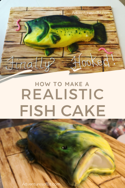 Learn how to make this carved fish cake with this step by step tutorial.
