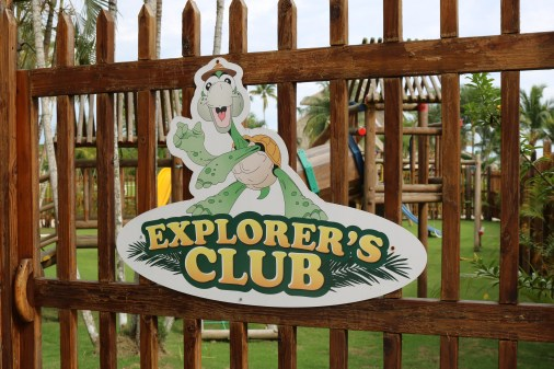 Explorer's club at the Dreams Delight Playa Bonita in Panama is perfect for the young kids. They offer tons of entertainment for the kids while the parents can enjoy some relaxation out by the pool.