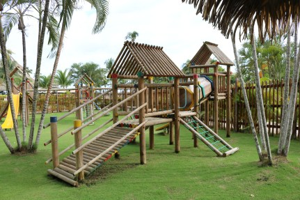 The playground in the explorer's club at the Playa Bonita. Kids can enjoy a ton of activities here in the explorers club