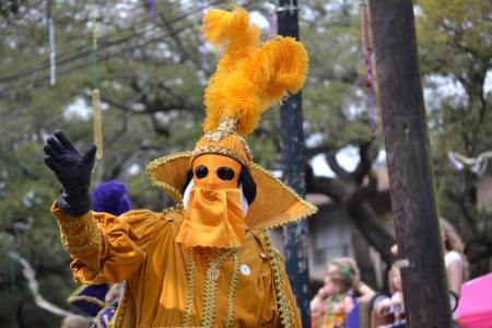 Catch a doubloon each year from these riders as they ride their horse down the street. Dressed in mardi gras colors, people flood the streets to experience Mardi gras first hand. Learn how to make your first Mardi Gras success over at adventuresofb2.com