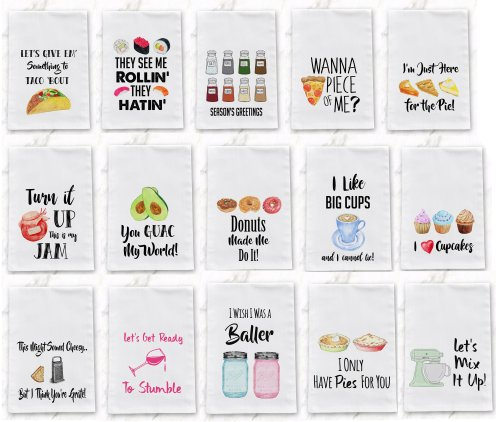 funny tea towels is a great way to share your silly side in your own home. Great to give as gifts to friends or family for Christmas. Get more etsy gift ideas here. #christmas #giftideas #etsy