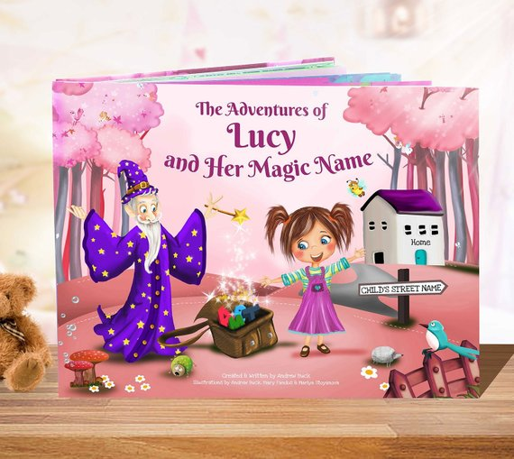 See your child's face light up when they see their own name in their own personalized children's book! Let their imagination come alive with this adorable unique gift! #christmas #etsy #giftideas #kids