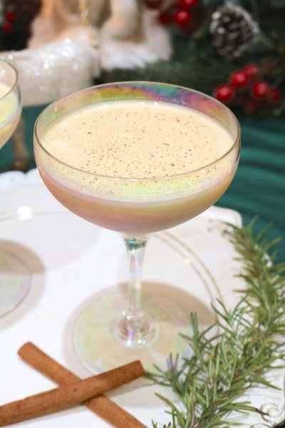 Nutcracker cocktail sweet, creamy, nutty dessert cocktail is perfect for sitting around the fireplace on Christmas Day. Smooth, creamy hazelnut cocktail to keep you in the Christmas spirit.