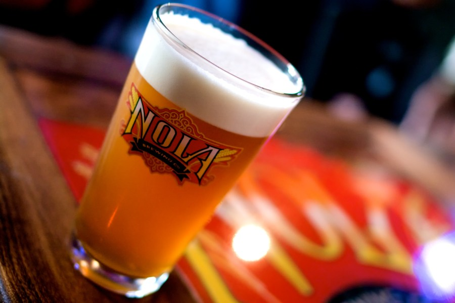 nola brewery offers free tours of the brewery and a free beer! This makes for a great budget friendly date idea! Then head over to the tap room for another round making this date less than $15! See more free New Orleans date ideas at adventuresofb2.com