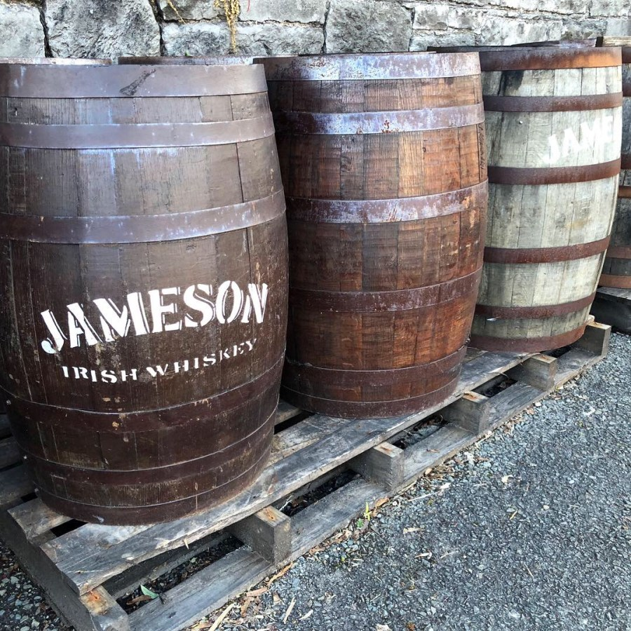 After hanging in Cork, drive towards Midleton to enjoy the Jameson Experience. Learn how they make their whiskey and taste the difference. At the end enjoy your own Jameson beverage before hitting the road again on your Ireland road trip! - adventuresofb2.com