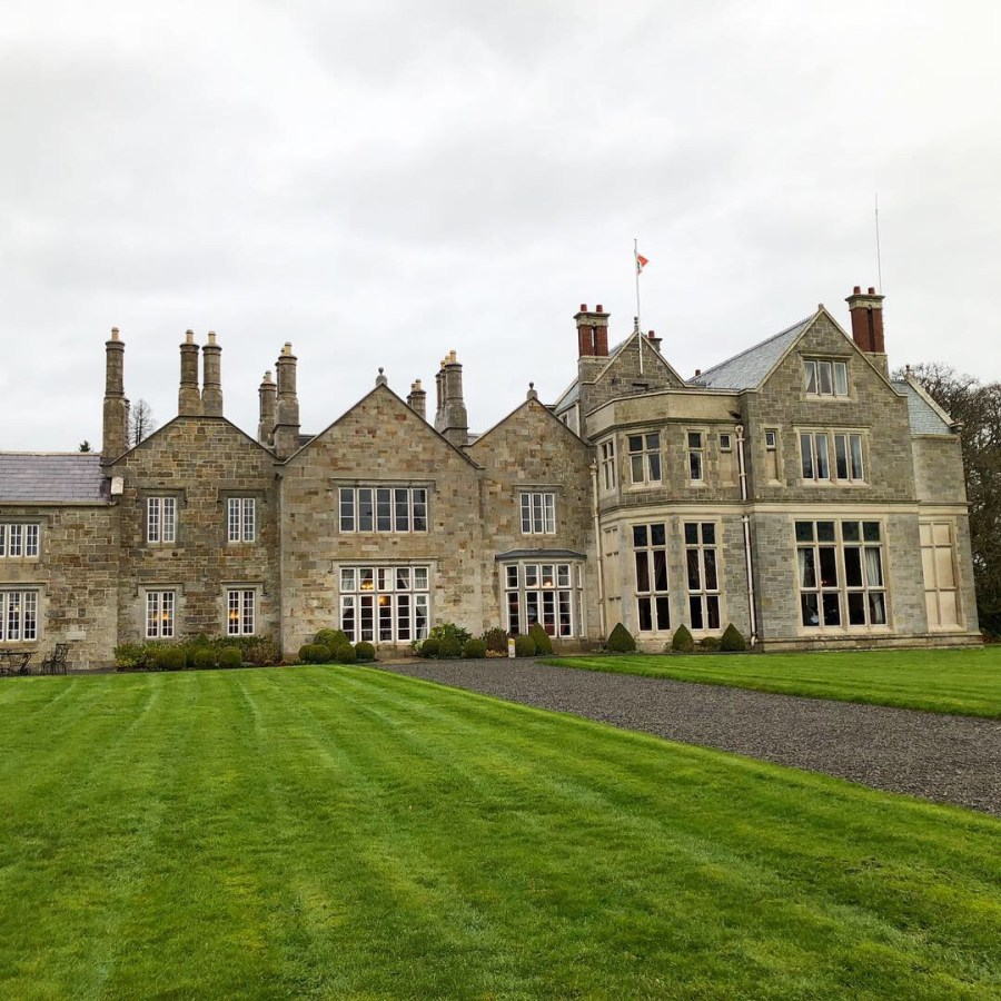 Live like Lord and Lady for one night in the Lough Rynn Castle in Mohill, Ireland. Experience the elegance and beauty of spending the night in a castle and mark it off the bucket list with our 10 day Ireland road trip itinerary. - adventuresofb2.com