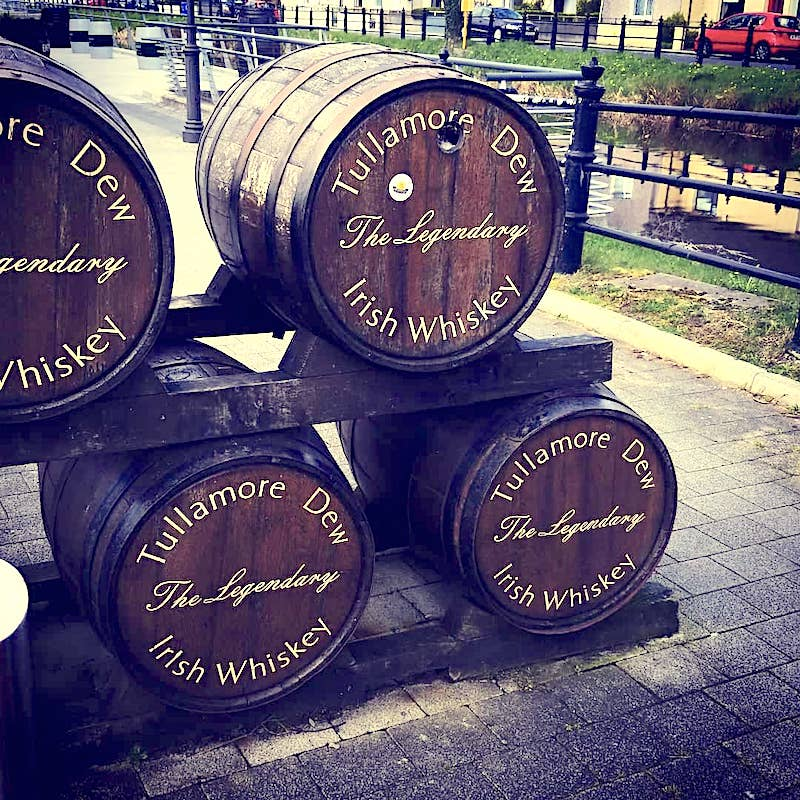 tullamore distillery is one of the many distilleries you can tour here in Ireland. - Adventuresofb2.com