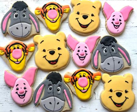 winnie the pooh and friends cookies are available for you buy on Etsy. A great addition to add to the winnie the pooh donuts! Learn how to make them here! - adventures of b2