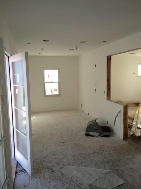 renovation of the empty nest - kitchen
