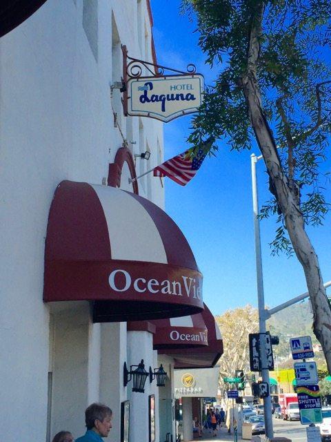 walking tour in Laguna Beach