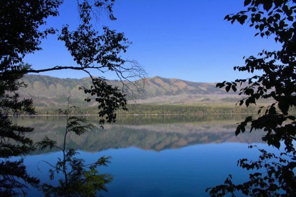 views of Glacier national park