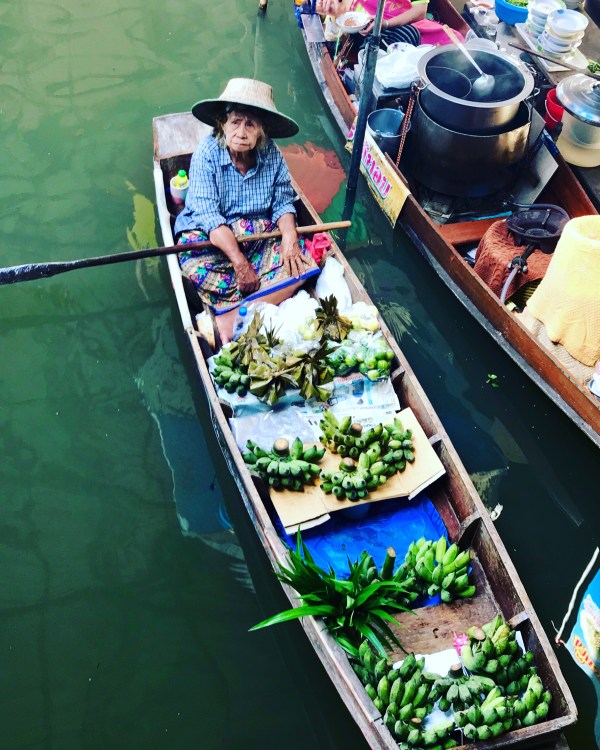 Ten reasons to visit Thailand and the floating markets were my favorite.