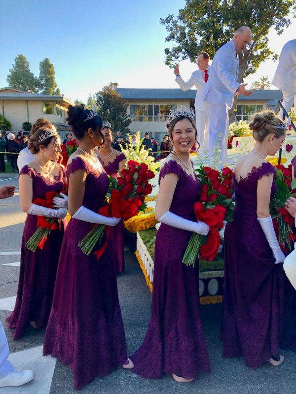 floats at the Rose Parade