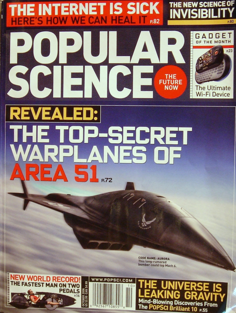 Critical Power in Popular Science Magazine