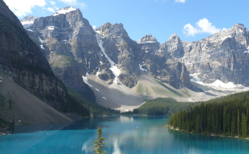 Moraine Lake & Consolation Lakes, Banff National Park, Canada (7-23-13)