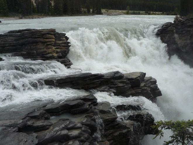 Athabasca Falls, Jasper NP 7-28-13