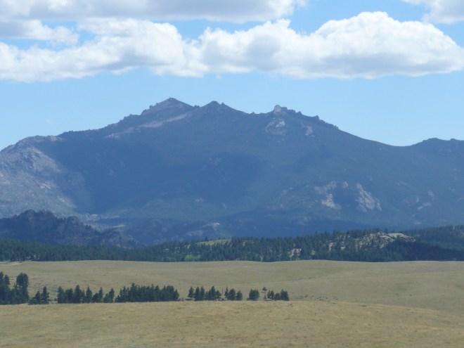 Laramie Peak from the NNW.
