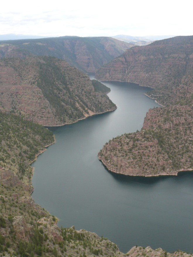 Flaming Gorge from Red Canyon Lookout, UT 8-26-15