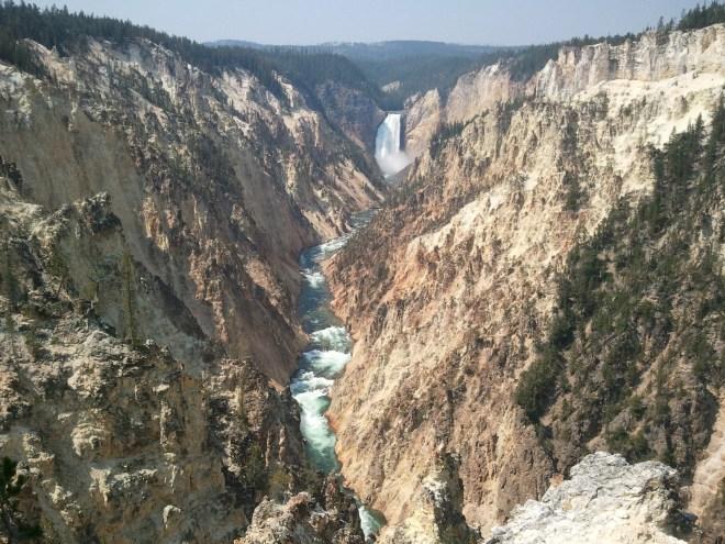 Lower Yellowstone Falls, Yellowstone NP, WY