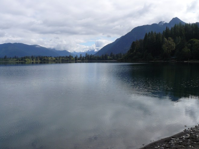 Lake Quinault. Photo looks NNE.