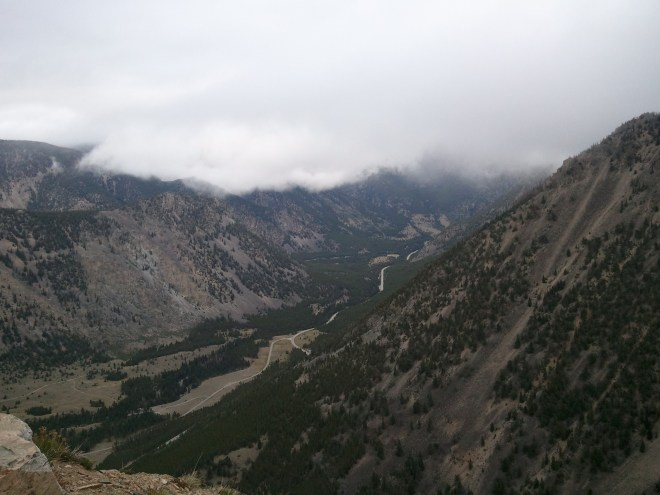 View along Beartooth Hwy, MT 8-15-12