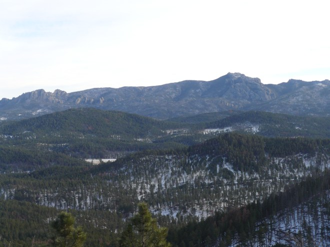 Harney Peak from Flag Mountain. Photo looks SE.
