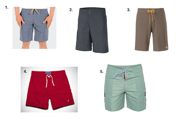 402516ddb6 This season's solid swim trunks come in a variety of cuts and styles for  every type of guy.