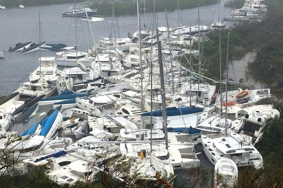 Hurricane Irma deals blow to yacht owners
