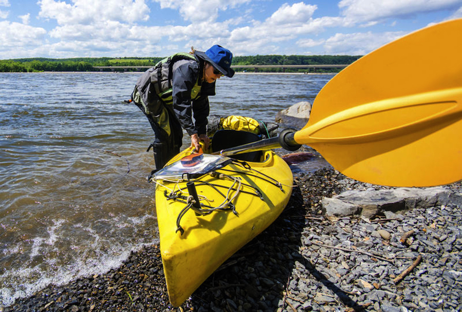 On the River with Susquehanna Through-Paddler Cathy Mumford