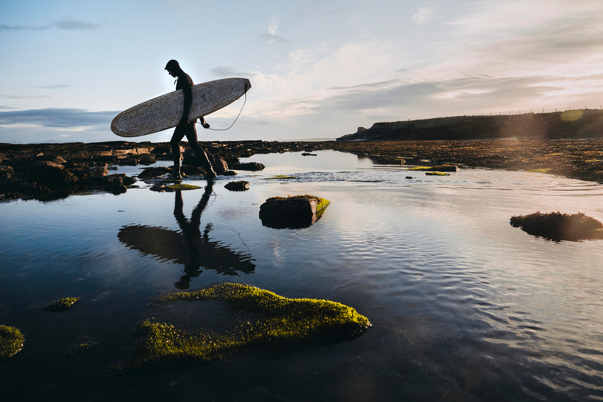 These Surfboards Made Out of Used Whiskey Casks Are Surfable Masterpieces