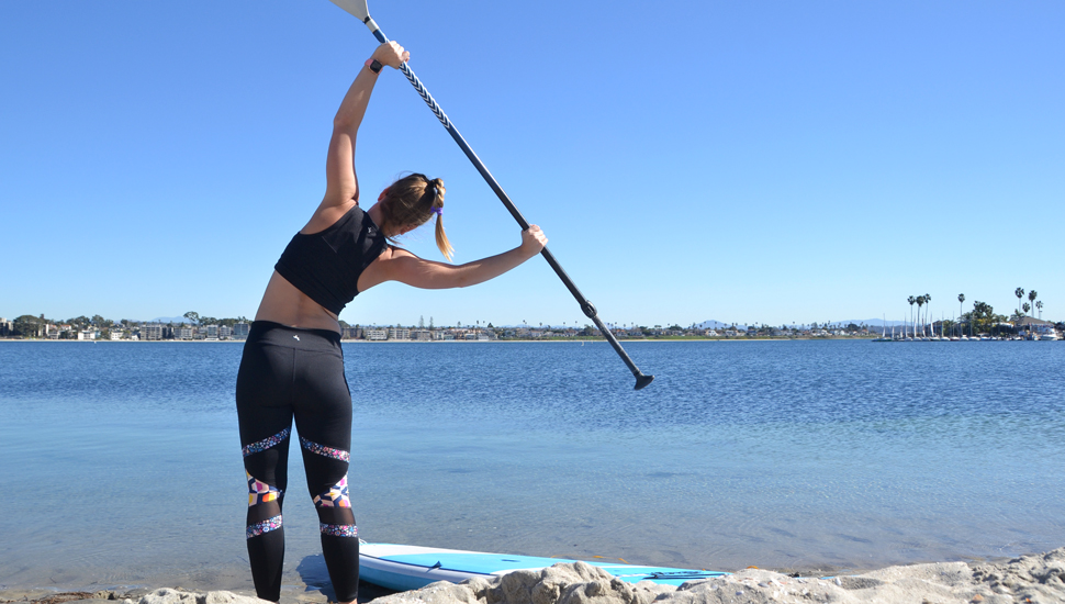 Five SUP-Specific Stretches To Do Before Paddling
