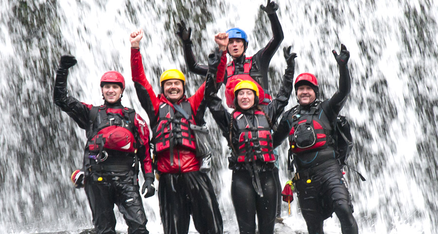 Gorge Walking Team Building Day