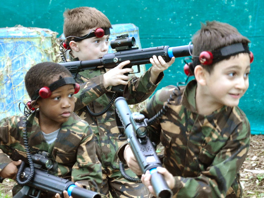 Laser Tag activity sessions at Adventures Wales, Porthcawl