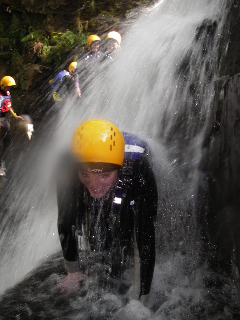 Gorge Scrambling near Cardiff with Adventures Wales Activity Centre