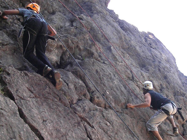 Rock Climbing Courses Near Bridgend