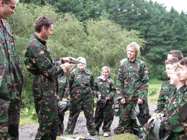 Paintballing Centre Near Swansea