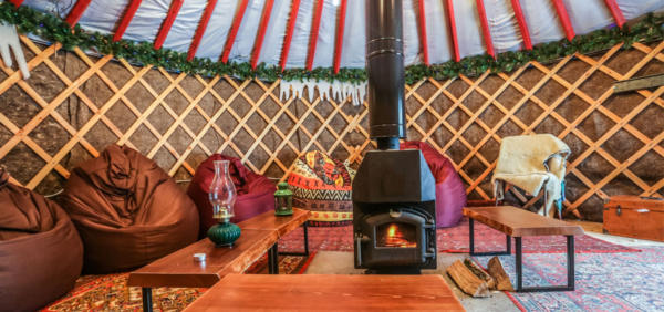 Yurt Glamping Hen Party Cardiff