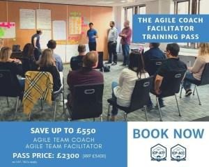 agile team coach training pass