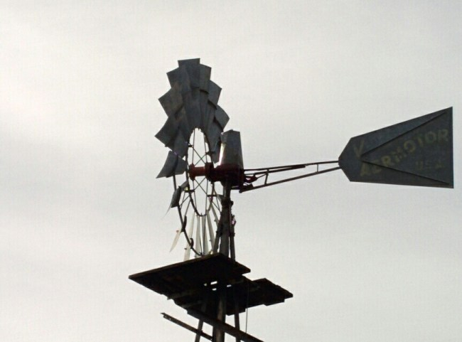 Close-up of the Windmill