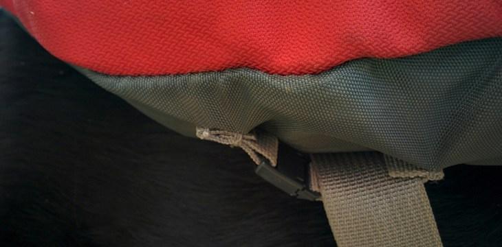 Strap on Pack that Attaches Around Chest Strap