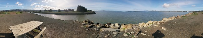 Panorama From the Picnic Table