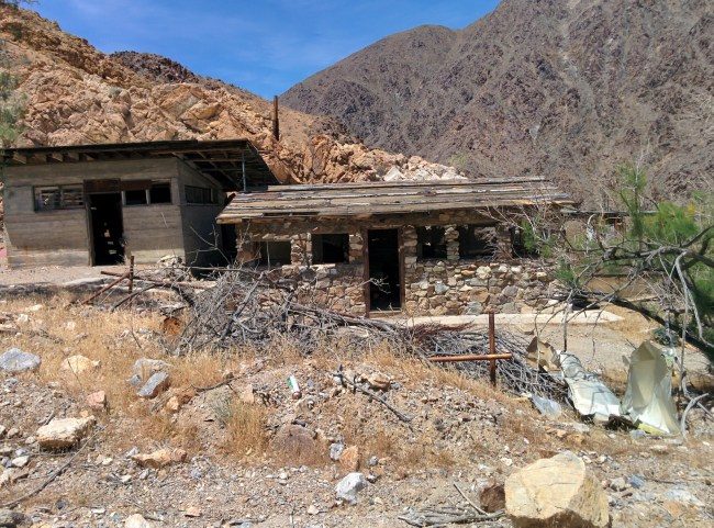 Abandoned Mine Buildings