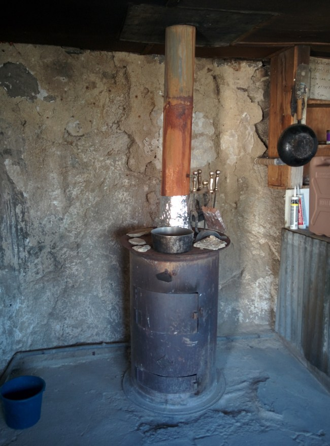 A Wood-Burning Stove For Heat And Cooking Duty